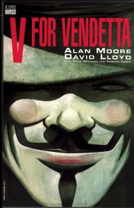 Cover komik V for Vendetta (1985)