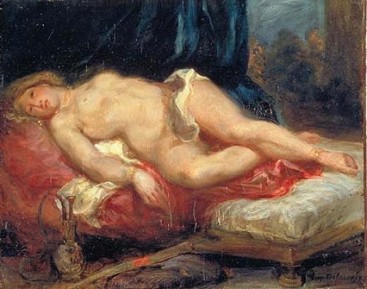 Delacroix Odalisque