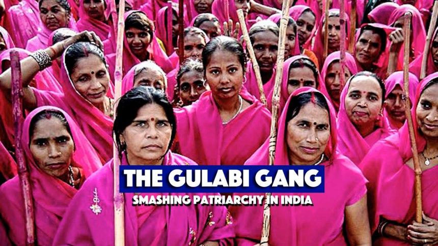 Gerakan Ibu-ibu main hakim sendiri di India, karena hukum dan negara tinggal diam pada perkosaan. http://www.gulabigang.in/