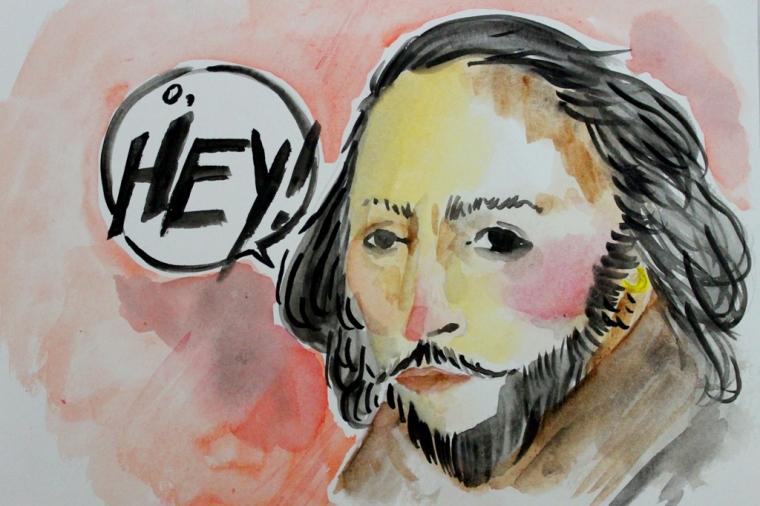 Ilustrasi William Shakespeare/Kalya Risangdaru