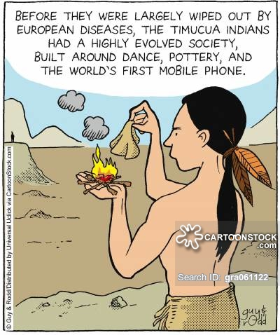 Before they were largely wiped out by European diseases, the Timuca Indians had a highly evolved society, built around dance, poetry and the world's first mobile phone.